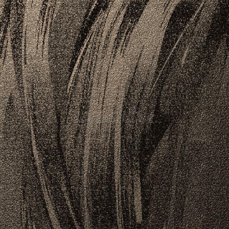 Fundo abstrato dos cursos da cor do brilho Fundo textured matizado escuro da areia Arte finala tirada mão do vintage fotos de stock