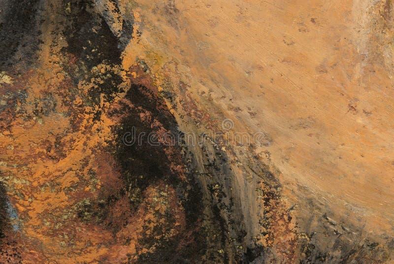 Fundo abstrato dos pastels do petróleo ilustração do vetor