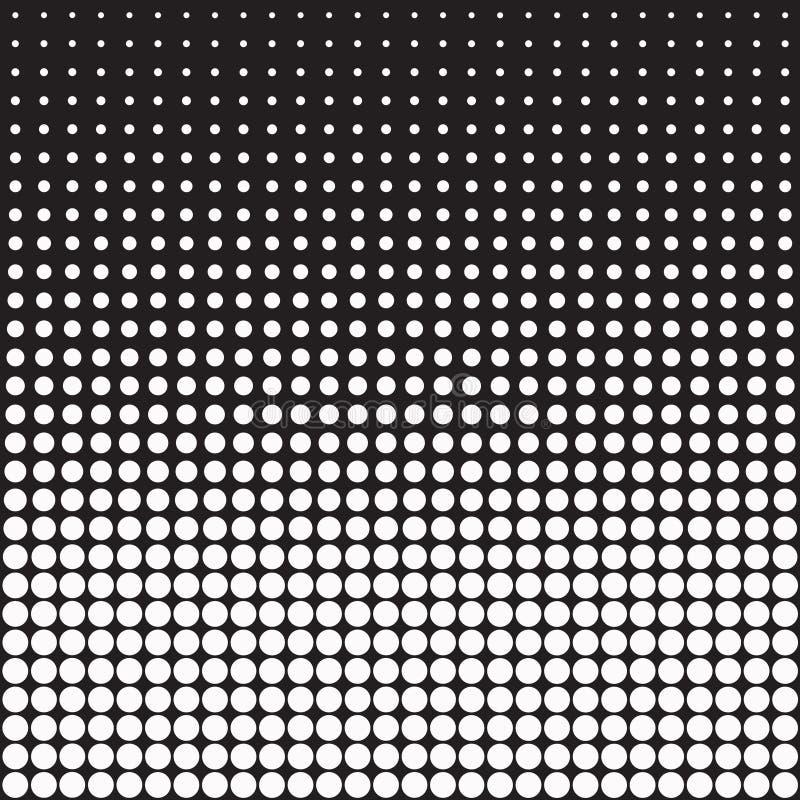 Fundo abstrato dos pontos do vetor ilustração stock
