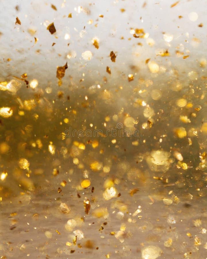 Fundo abstrato dourado do movimento e do borrão fotos de stock royalty free