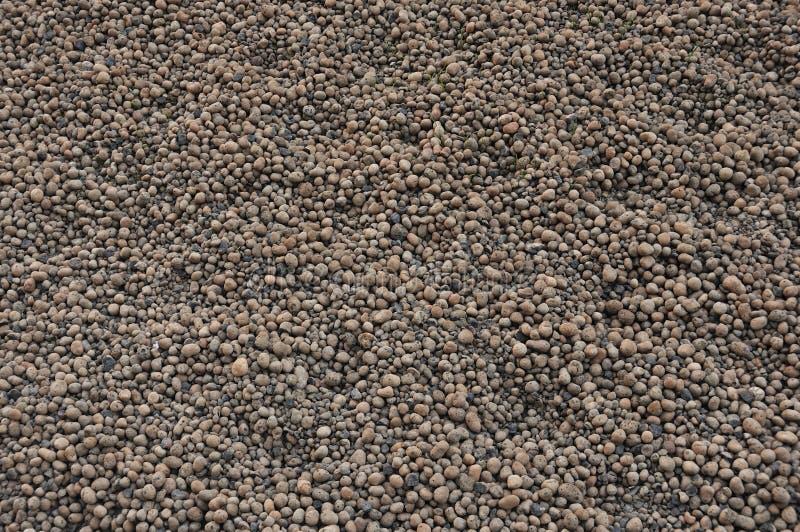 Fundo abstrato e perfeito Fundo da argila expandida - conteúdo de construção Textura de granulados de argila expandida Argila exp fotografia de stock