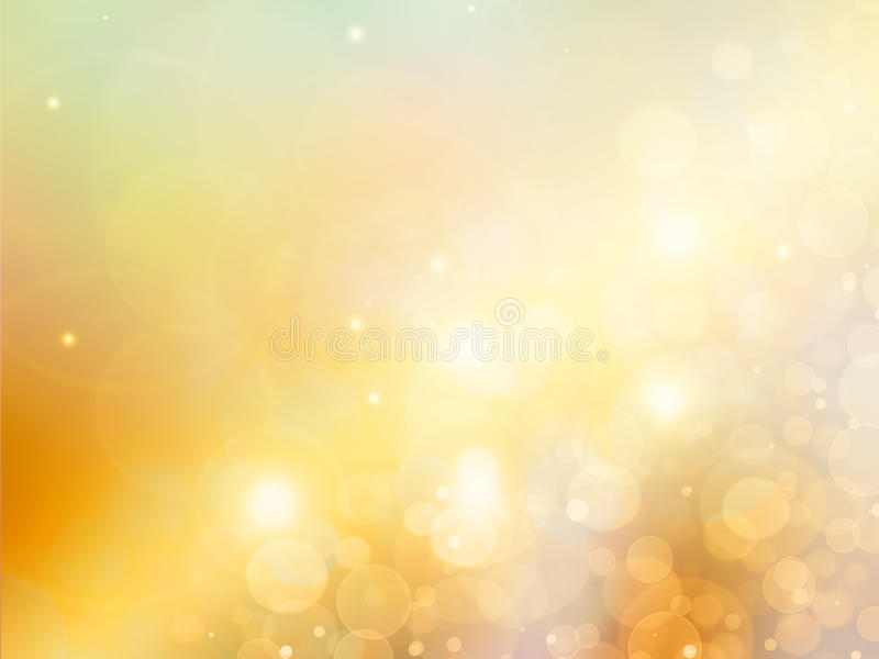 Fundo abstrato elegante do ouro ilustração royalty free