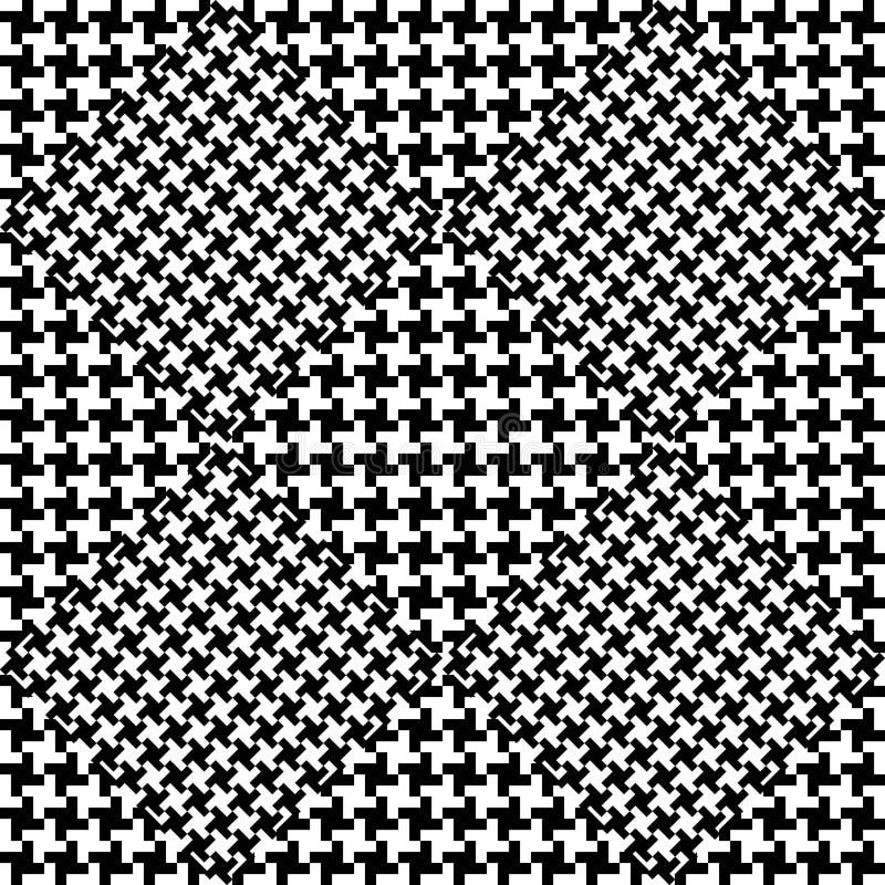 Fundo abstrato em preto e branco ilustração royalty free
