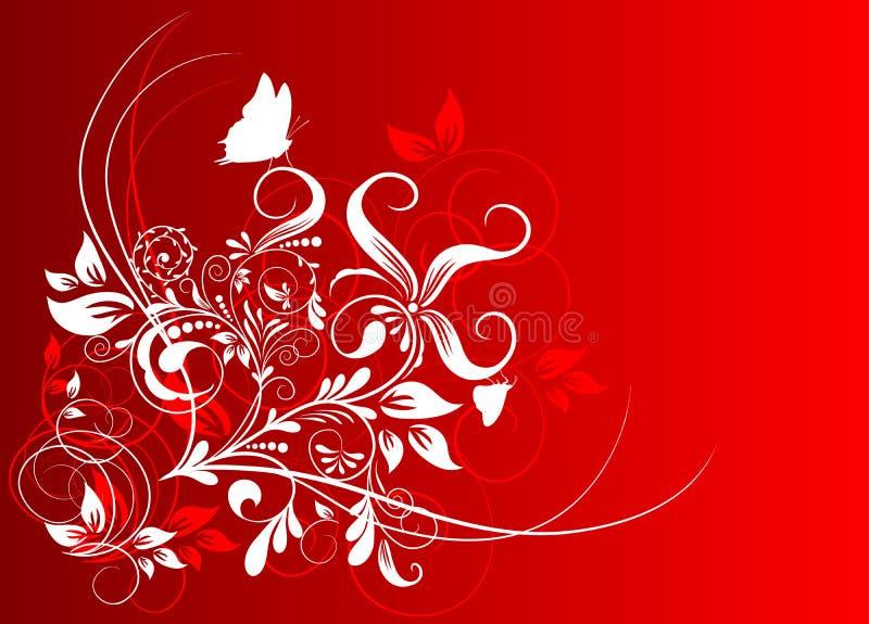 Download Fundo Abstrato Floral, Vetor Ilustração do Vetor - Ilustração de artístico, projeto: 12813060