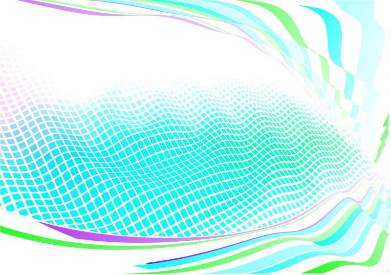 Fundo abstrato Funky ilustração do vetor