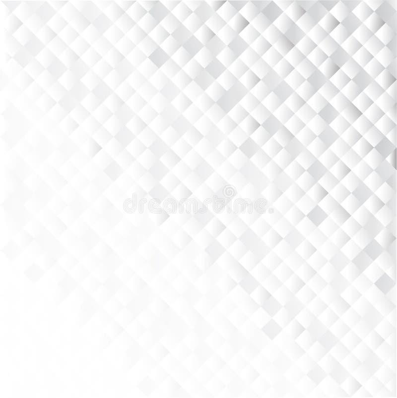 Fundo abstrato geométrico cinzento ilustração royalty free
