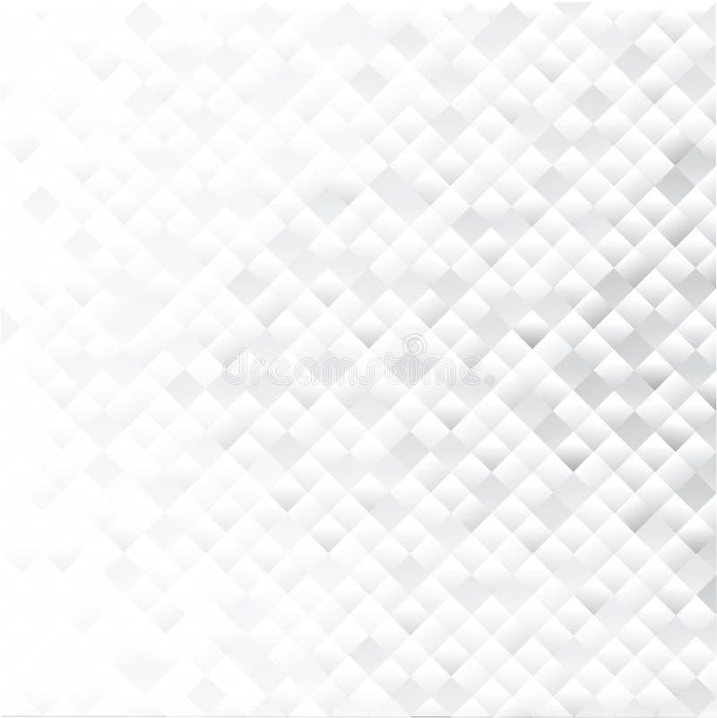 Fundo abstrato geométrico cinzento ilustração do vetor