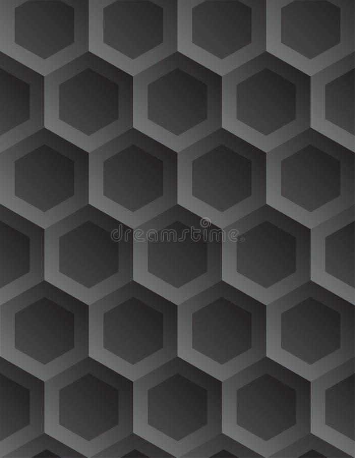 Fundo abstrato geométrico do vetor ilustração stock