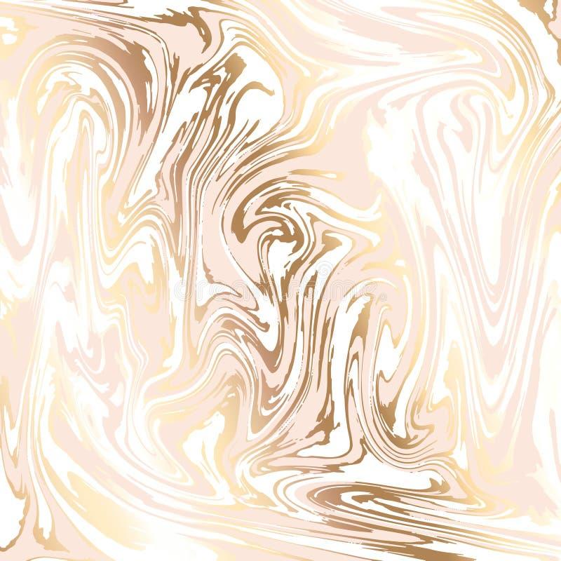 Fundo abstrato, imitação de mármore da textura do vetor ilustração do vetor