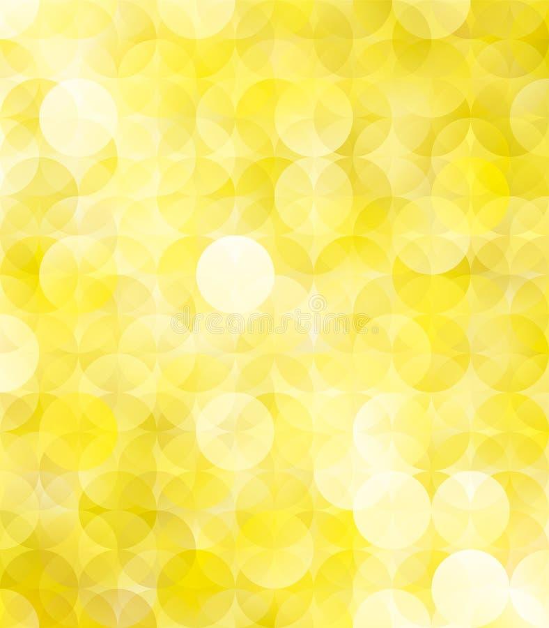 Fundo abstrato luxuoso dourado ilustração stock