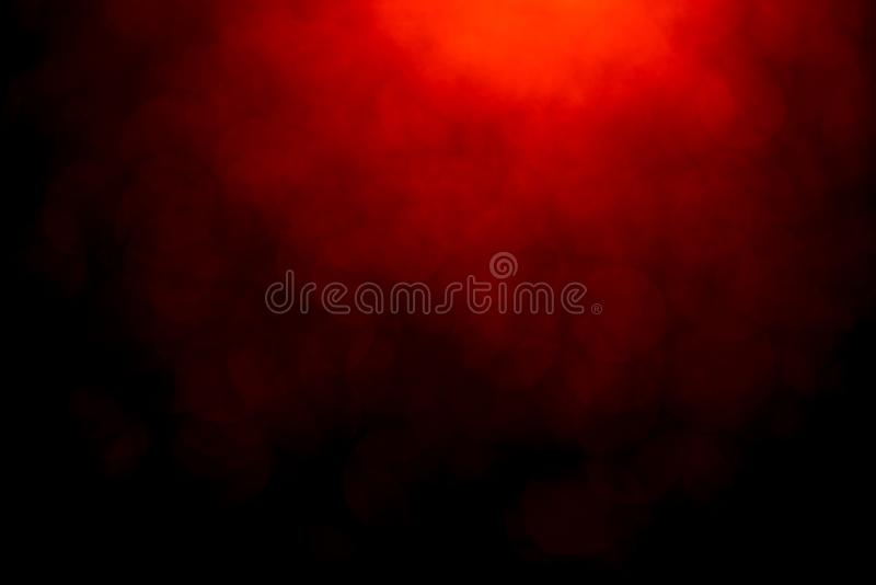 Fundo abstrato mistical do bokeh vermelho foto de stock royalty free