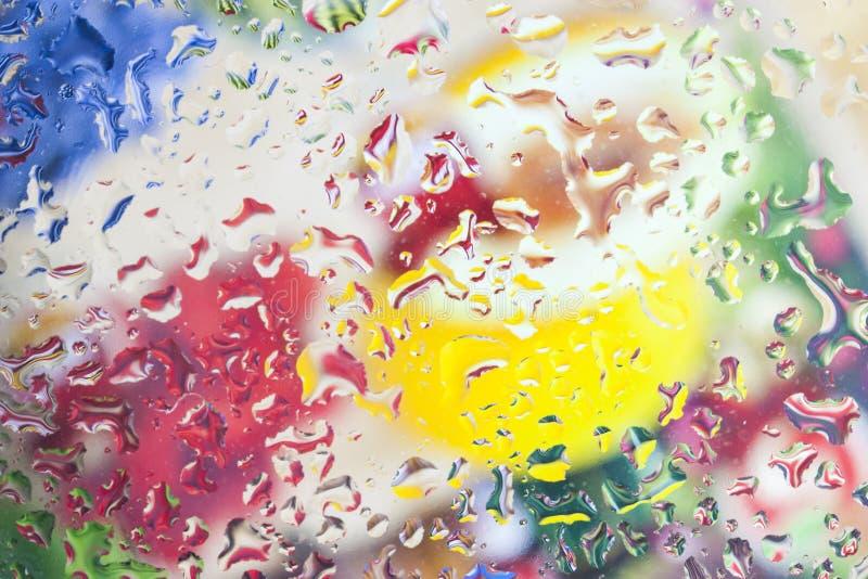 Fundo abstrato Multicolor foto de stock