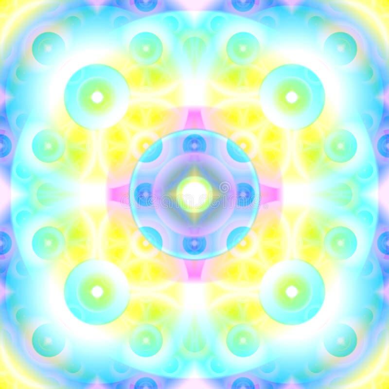 Fundo abstrato Mystical ilustração stock