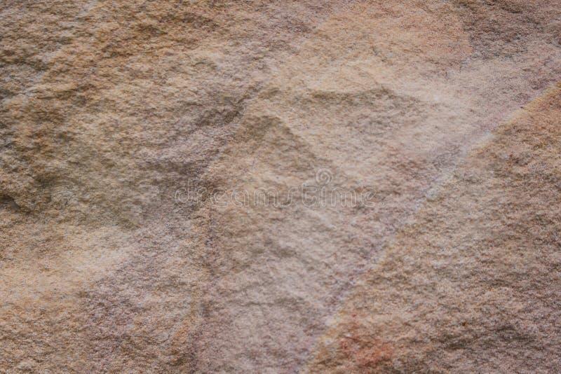 Fundo abstrato natural dos testes padrões do arenito do marrom da natureza da textura fotografia de stock