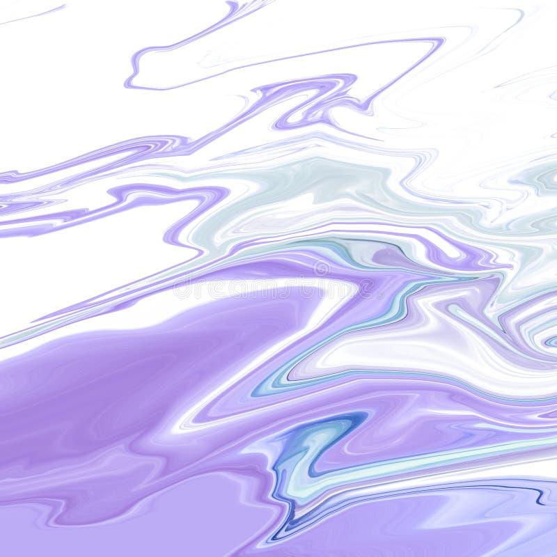 Fundo abstrato, onda azul da textura de mármore fotografia de stock royalty free