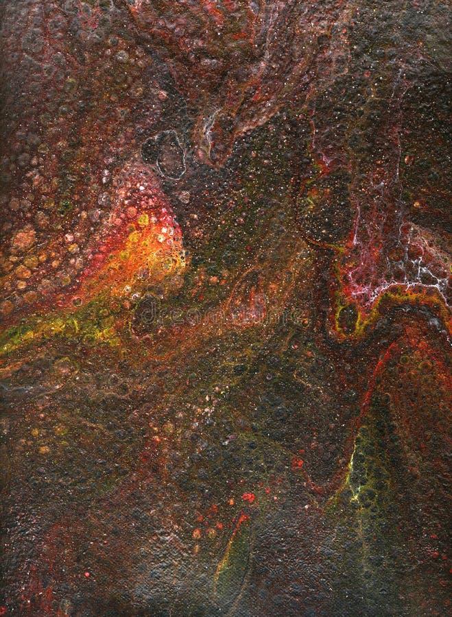 Fundo abstrato, pele do dragão foto de stock royalty free