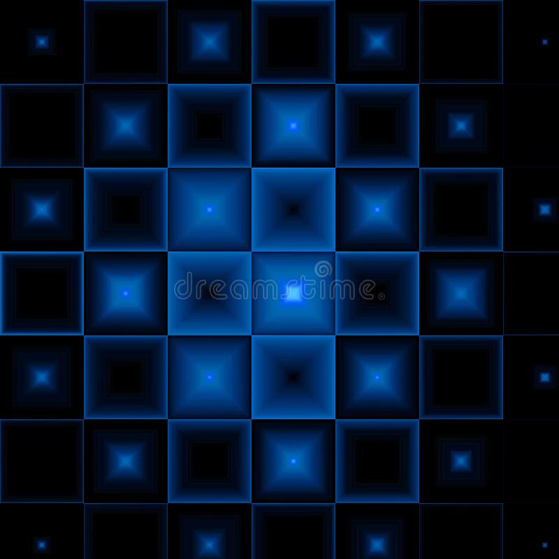 fundo abstrato Preto-azul foto de stock royalty free