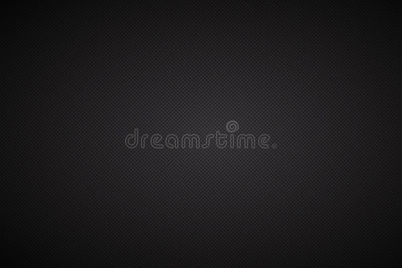 Fundo abstrato preto com linhas diagonais ilustração stock