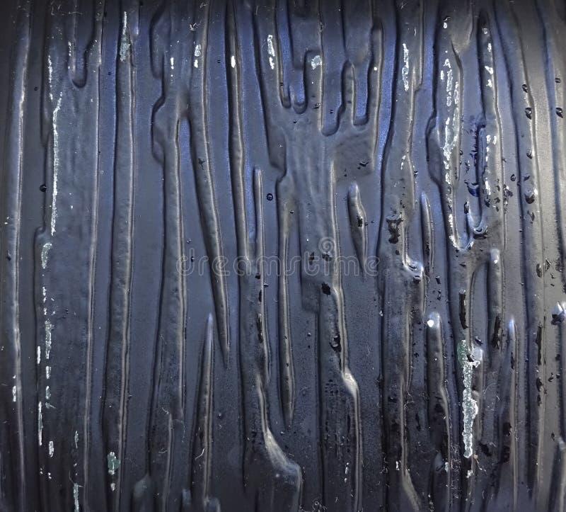 Fundo abstrato preto da superfície de metal do teste padrão fotos de stock