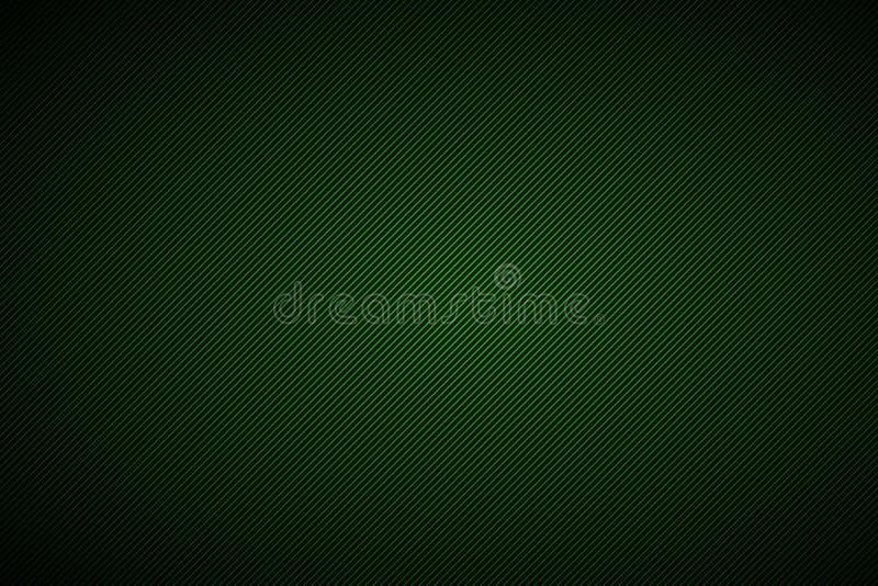 Fundo abstrato preto e verde com linhas diagonais ilustração stock