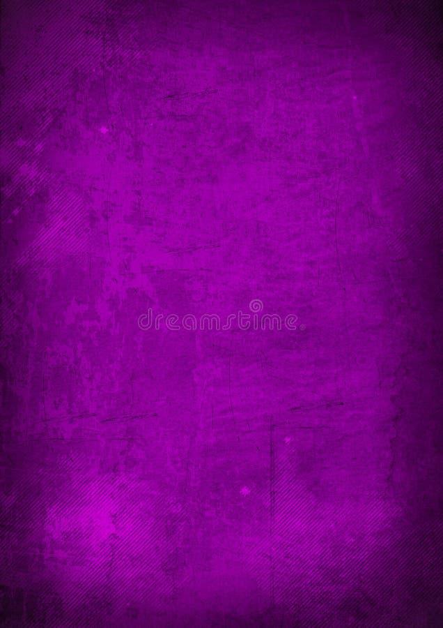 Fundo abstrato roxo do grunge ilustração stock