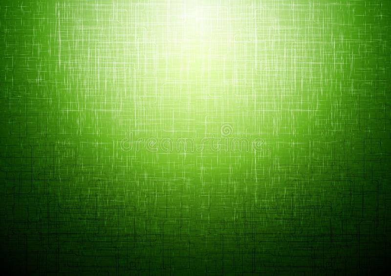 Fundo abstrato técnico verde ilustração stock
