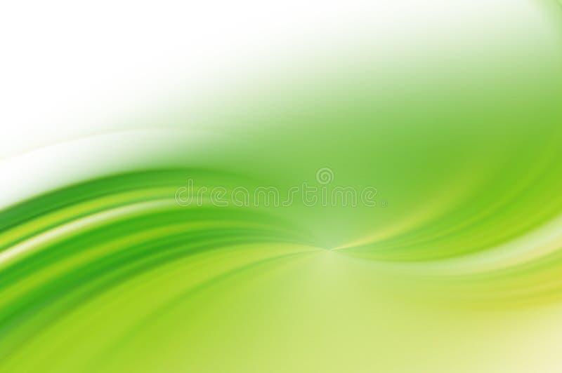 Fundo abstrato verde. ilustração do vetor
