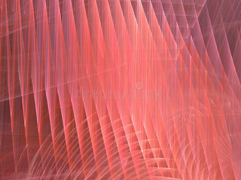 Fundo abstrato vermelho cor-de-rosa ilustração stock
