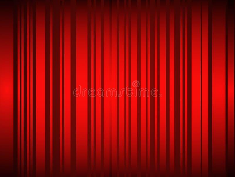 Fundo abstrato vermelho quente ilustração stock