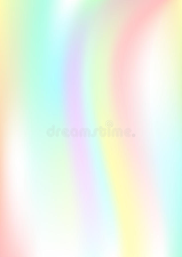 Fundo abstrato vertical com efeito holográfico Ilustração do vetor ilustração royalty free