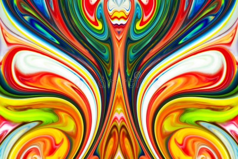 Fundo acr?lico abstrato textura da aquarela foto de stock royalty free