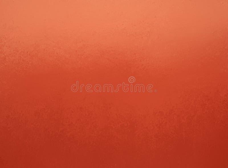 Fundo alaranjado com beira elegante da parte superior da textura e da luz suave em cores da ação de graças e do outono ilustração stock