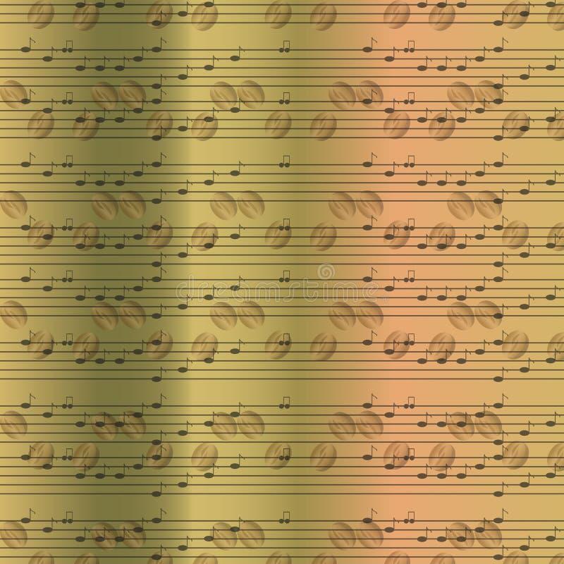 Download Fundo Aleatório Velho Desvanecido Das Notas Musicais Ilustração do Vetor - Ilustração de envelhecido, música: 65579951