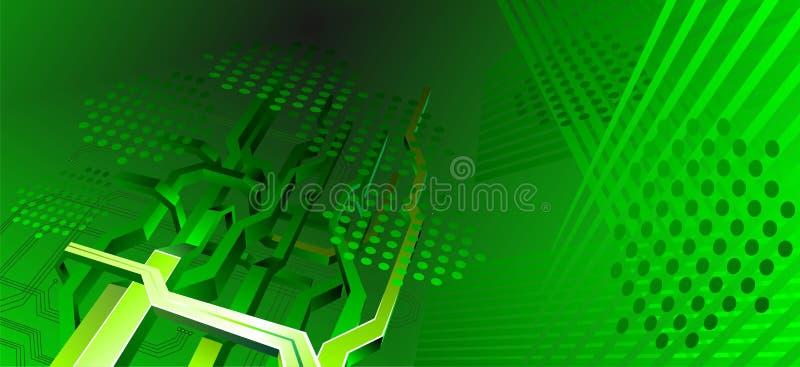 Fundo alta tecnologia ilustração do vetor