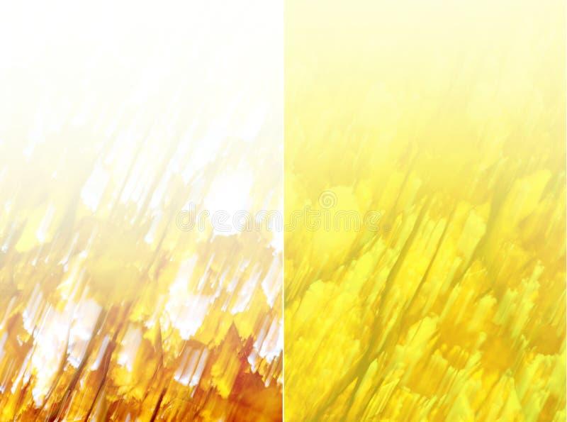 Fundo amarelo abstrato ilustração do vetor