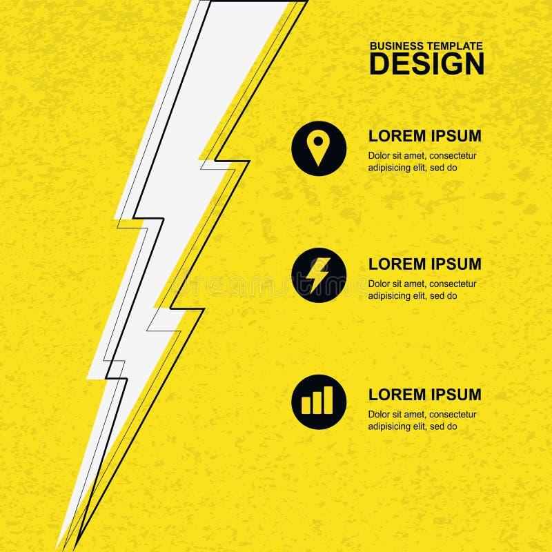 Fundo amarelo abstrato da textura do grunge com ligh preto, branco ilustração stock