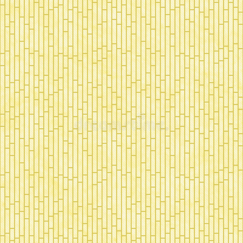 Fundo amarelo da repetição do teste padrão da telha das ardósias do retângulo imagens de stock