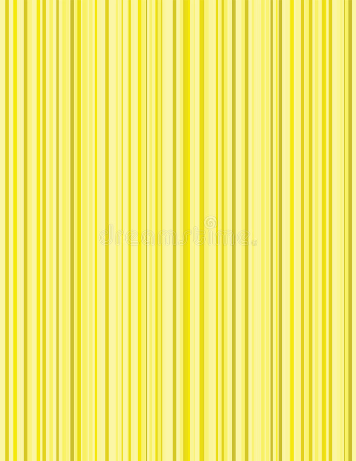 Fundo amarelo das riscas ilustração royalty free