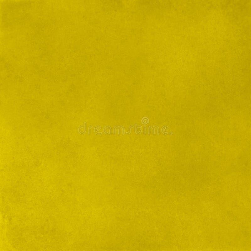 Fundo amarelo vibrante da superfície da textura da parede do estuque do sumário, telha colorida ilustração stock