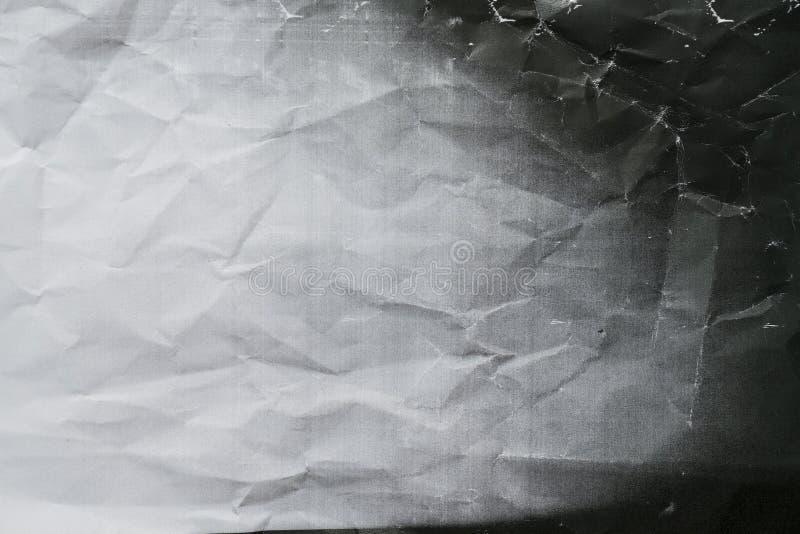 Fundo amarrotado fotocópia da textura foto de stock