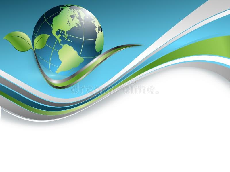 Fundo ambiental abstrato do vetor ilustração royalty free