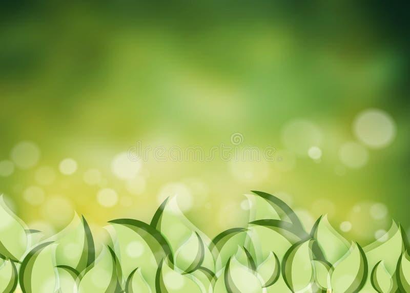 Fundo ambiental do vetor ilustração stock