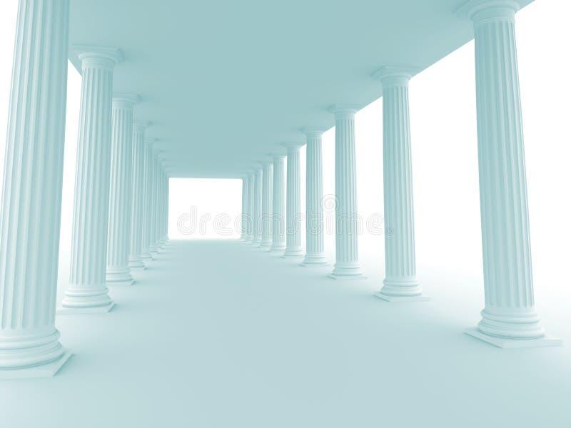 Fundo arquitectónico ilustração royalty free