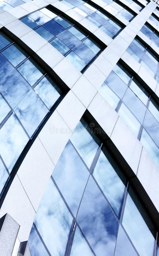 Fundo arquitectónico abstrato fotografia de stock