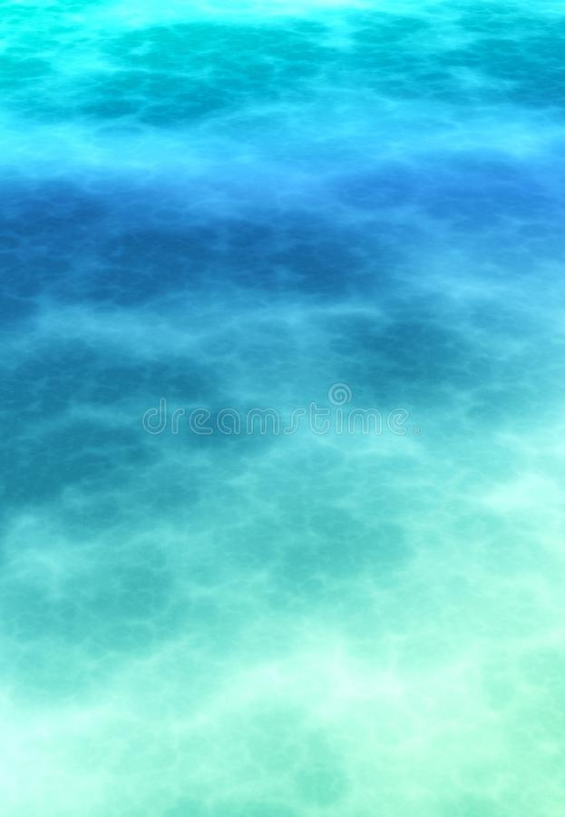 Fundo atmosférico macio abstrato do azul cerulean foto de stock royalty free