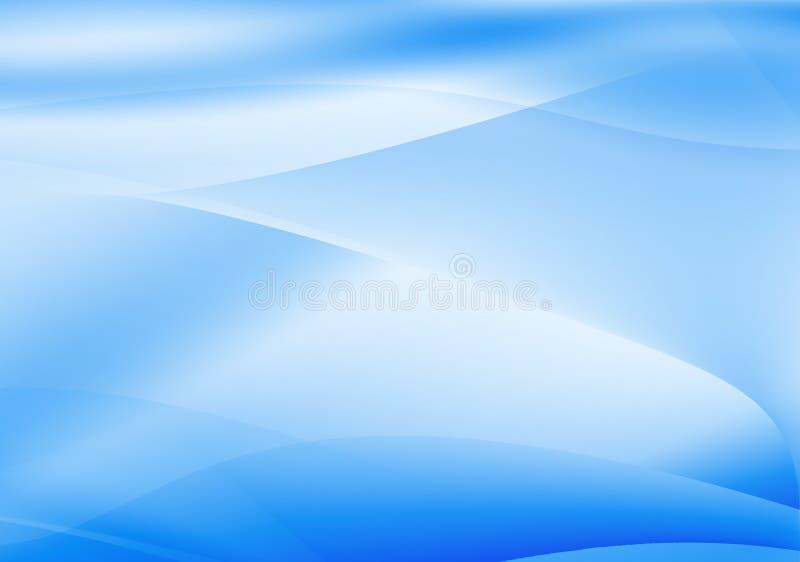 Fundo azul ilustração do vetor