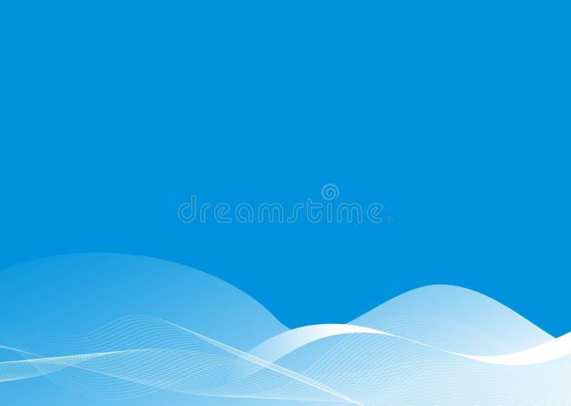 Fundo azul abstrato imagem de stock