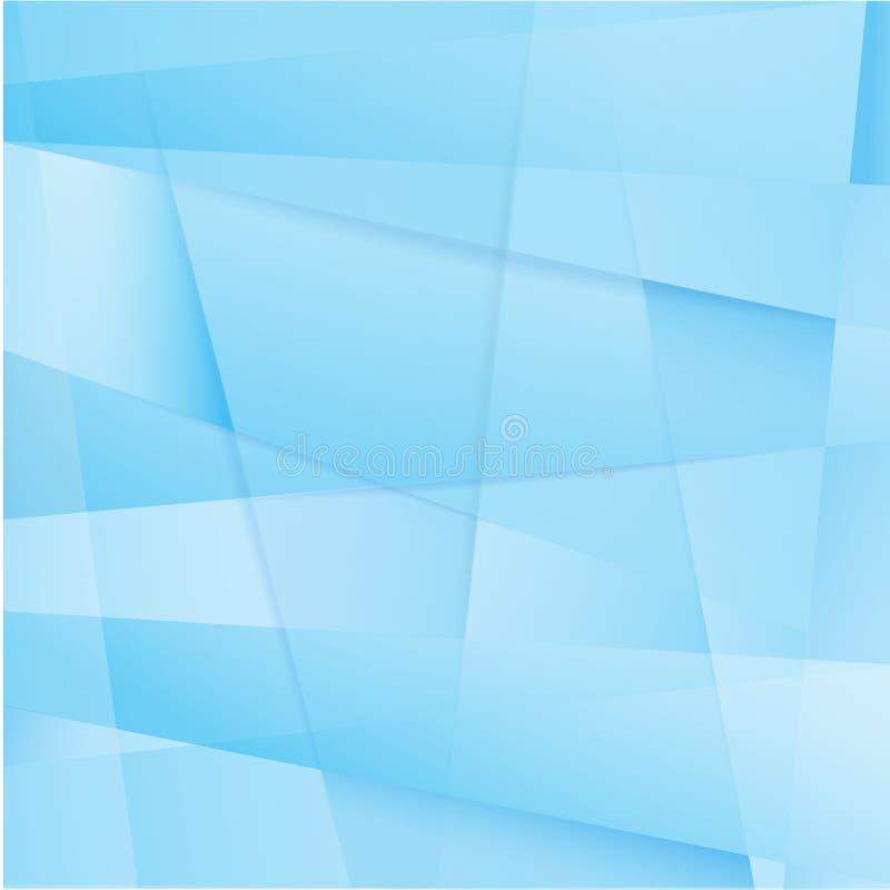 Fundo azul abstrato ilustração royalty free