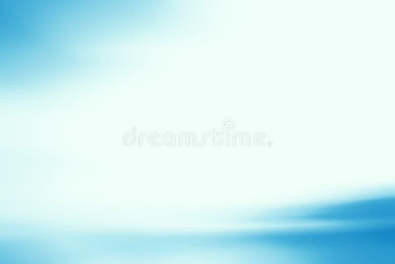 Fundo azul abstrato ilustração stock