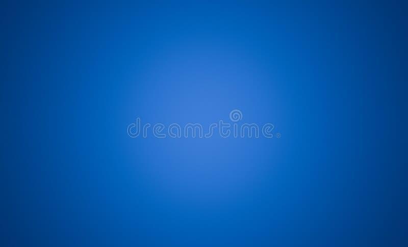 Fundo azul abstrato com a vinheta para o conceito da tecnologia ilustração stock